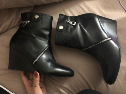Rudsak Bossey Wedge boots