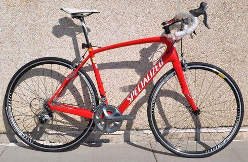 火辣辣性感流線型 SPECIALIZED Roubaix SL3 / DT Swiss車輪/ Shimano 20速Ultegra組件 最後一部清倉優惠 歡迎查詢訂購優惠