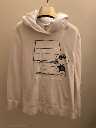 Uniqlo Kaw White Hoodie [M Size]