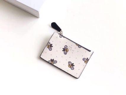 Coach card holder/ coin pouch F26657