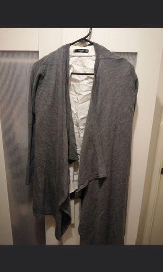 Grey cardigan set