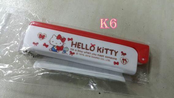 蝴蝶結KT貓折疊梳子