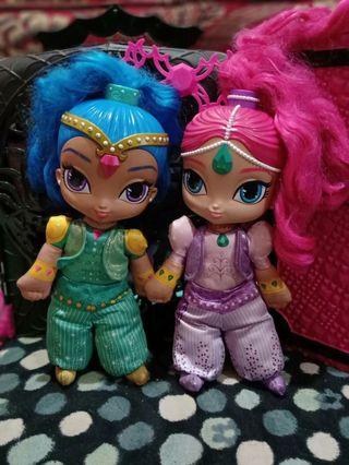 Doll shimmer and shine