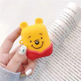 [預訂]維尼熊/熊本熊 藍芽耳機 AirPods 保護套