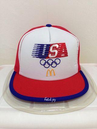 Vintage Olympic Los Angeles 1984 USA Mcd