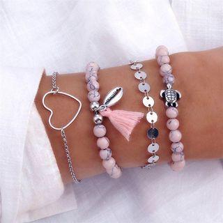 Set Love Turtle Bracelet