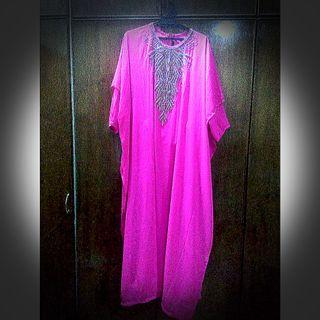 Butterfly Dress Shocking Pink (First Lady)