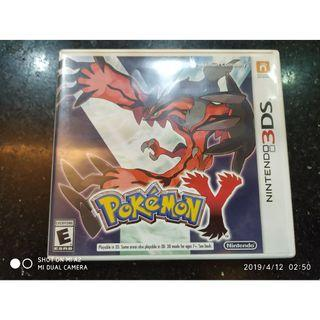 USED 3ds game Pokemon Y (US)