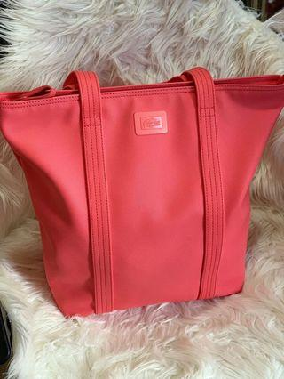 Pink lacoste bag