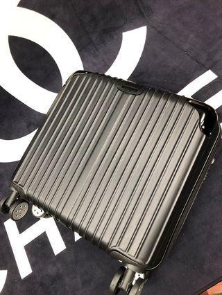 18吋拉絲防刮隨身登機迷你小行李箱❤️玫瑰金/黑色/銀色/香檳金