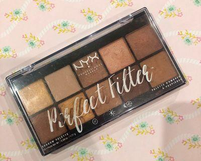 NYX Eyeshadow Palette - Perfect Filter (Golden Hour)