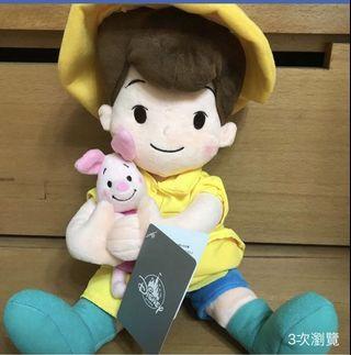日本迪士尼小熊維尼娃娃