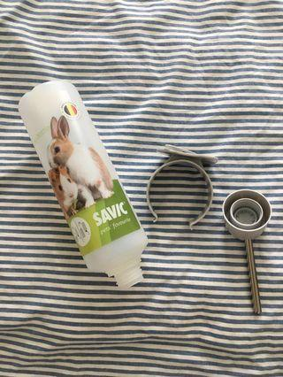 Top Brand - SAVIC - NEW Water Bottle for Rabbits/Guinea Pigs