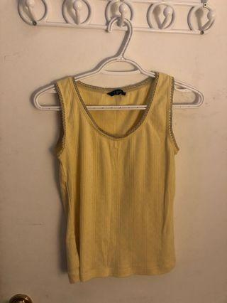 YELLOW TANK TOP