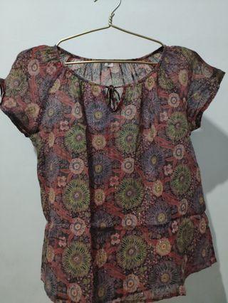 blouse super ringan motif abstrack gliter2