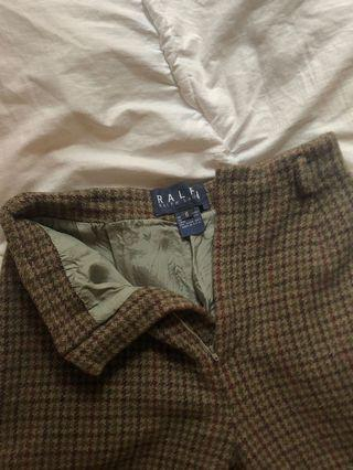 RALPH LAUREN PLAID PANTS