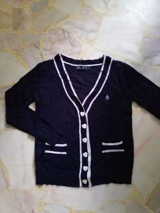 #blessing / free: navy blue cardigan