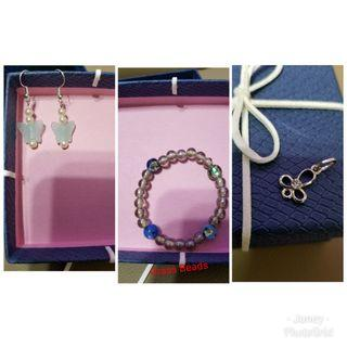 All $25 Pendant Bracelet Earrings