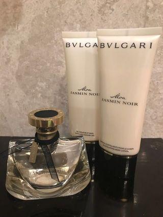 BVLGARI Mon Jasmin Noir 75ml Parfume, Shower gel & Body lotion
