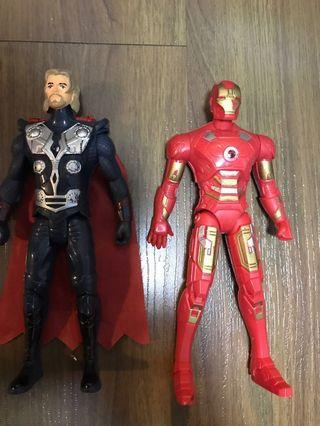 Thor and Iron Man Action figure