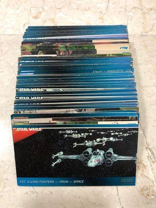 🚚 Star Wars picture cards