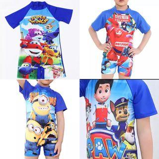 🚚 Baby Kid boy swimsuit 2 to 11 yrs old