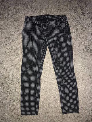 Zara Original Pants With Motif Jeans Celana