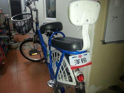 Bicycle rechargable motor