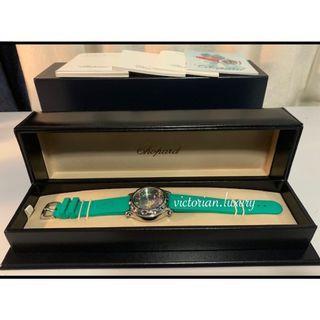 Authentic! CHOPARD Happy Sport FISH Watch w/ RUBIES & SAPPHIRES