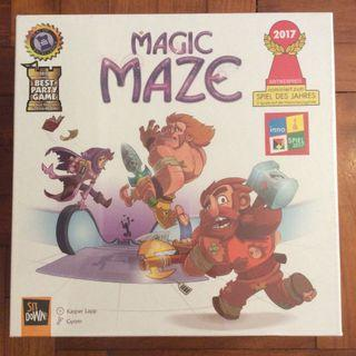 Magic Maze party game (slightly dented)