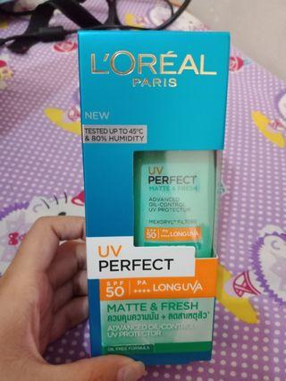 Loreal uv perfect 50+++