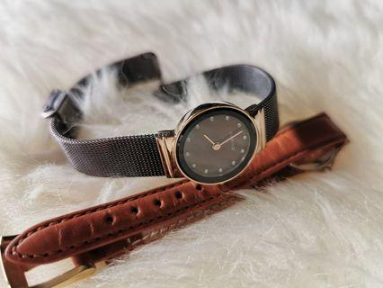 Bering Mother of Pearl Watch