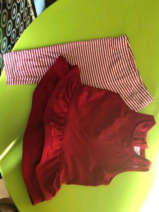 baby pants and top set 6-9months