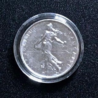 1962 - France 5 francs [EF] [83.5% Silver]