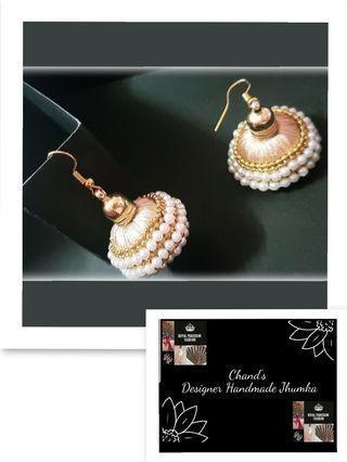 Bridal Jhumka earrings Indian Pakistani traditional