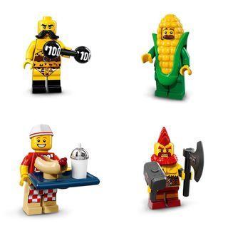 Lego Minifigures Series 17 四款