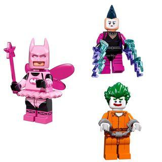 Lego The Batman Movie Minifigures 三款