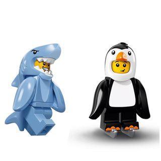Lego Minifigures - 企鵝人及鯊魚人