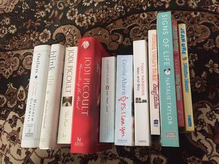 English books/novel to let go