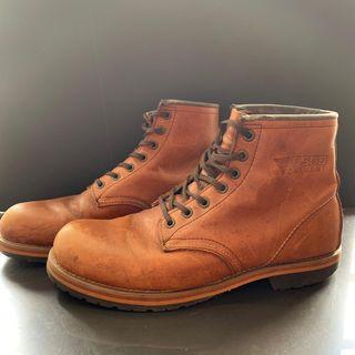 PSGB Garment Brown Steel Toe Boots
