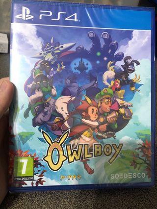 🚚 PS4 Owlboy