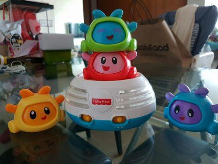 Fisher Price Bright Beats Stacker