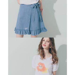 (全新) 轉售 Pazzo.DISNEY小美人魚系列兩件式裙裝 - L