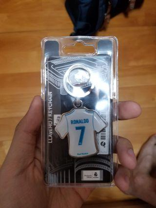 Cr7 c朗 real madrid皇馬 鎖匙扣 keyring