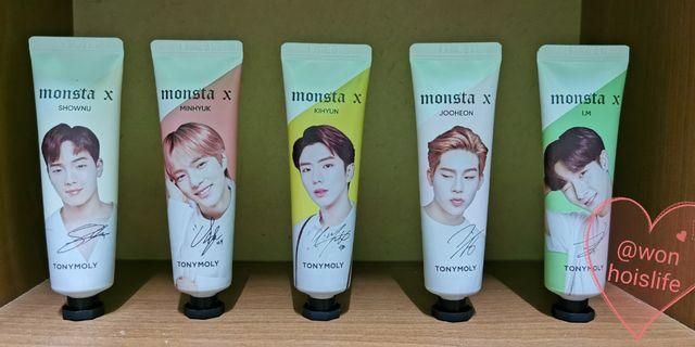 MONSTA X TONYMOLY HANDCREAM
