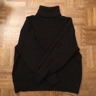 Hm black turtleneck sweater