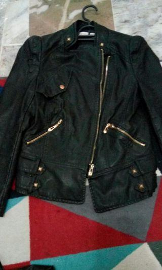 Leather Jacket Riding Motorcycle Women