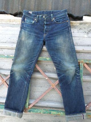 Momotaro jeans size 30