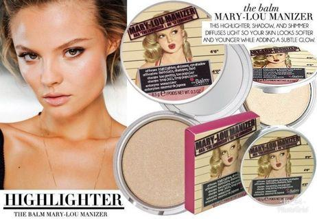 THE BALM MARY LOU MANIZER #originaltrialpackmakeupbylin