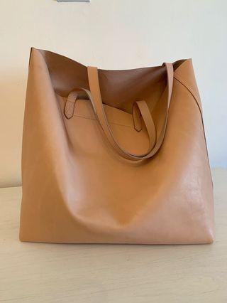 Madewell Large Transport Tote - Sheer Pink